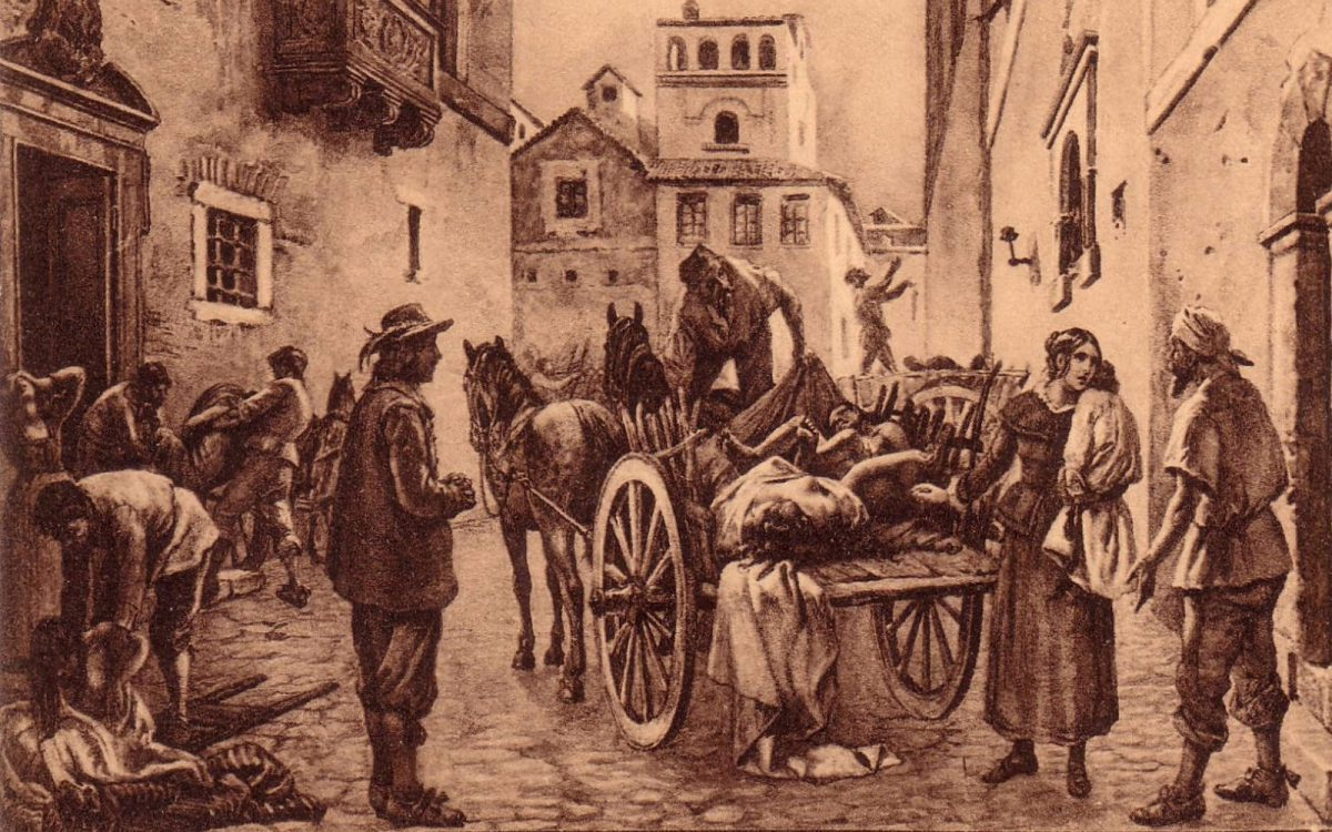RAGUSA, 1743 – Come si scampò dalla peste, di Giuseppe Tumino